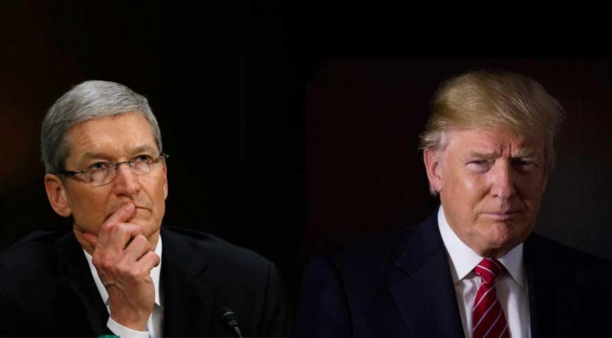 Trump Apple'ı ABD'de istiyor