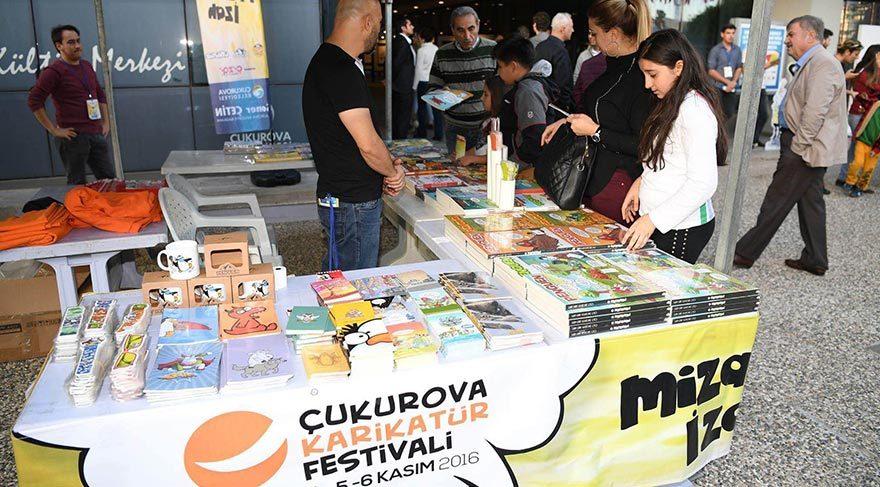 Çukurova Karikatür Festivali başladı