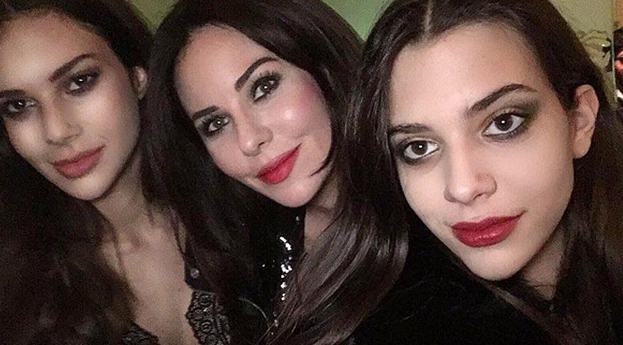 Defne Samyeli, kızları Derin ve Deren ile çektiği selfieyi paylaştı