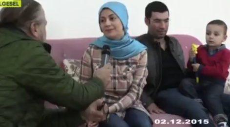 Şehit kaymakam ve eşi TRT'ye konuşmuştu