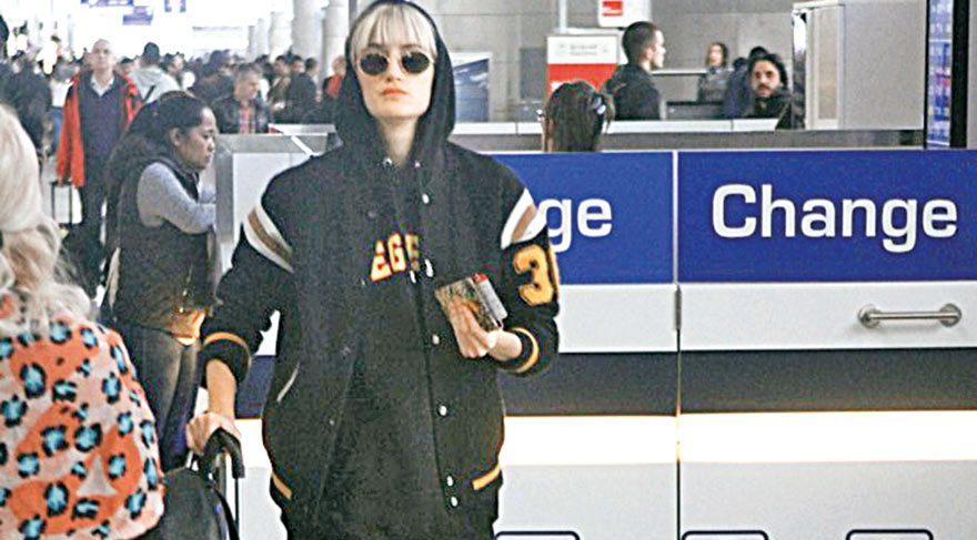Barselona'ya uçtu