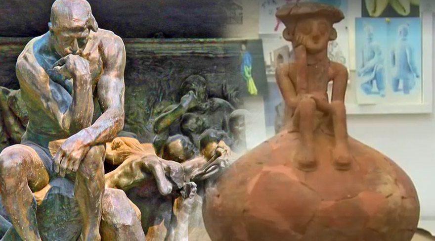 Tel Aviv'de bulunan heykel tarihe ışık tutuyor