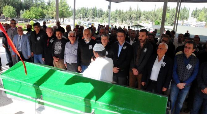 Gazeteci Hazım Kılıç, son yolculuğuna uğurlandı