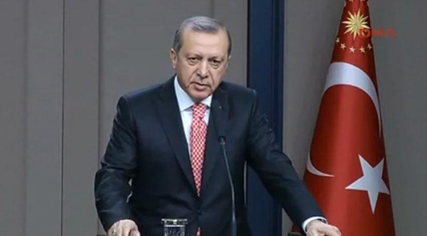 Erdoğan'dan yeni anayasa açıklaması: İfade sıkıntısı yok