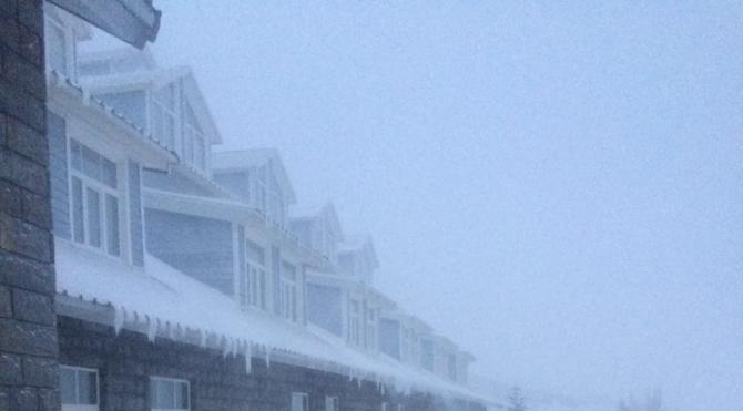 Uludağ'da kar kalınlığı 15 santimetreye yükseldi