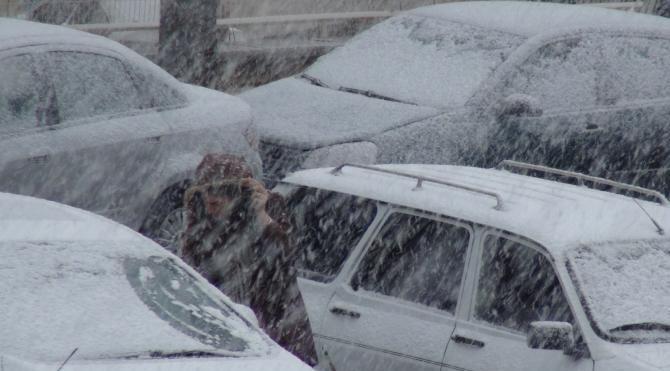 Çorum'da kar yağışı ulaşımı olumsuz etkiledi