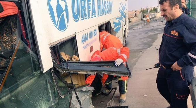 Şanlıurfa'da kaza: 5 yaralı