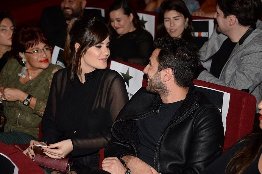 Ferhan Şensoy ve Cem Öğet'in aşk dakikaları...