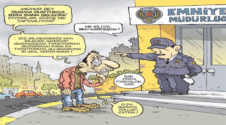 Gırgır dergisi bu haftaki kapağına ülke insanının psikolojik halini taşımış