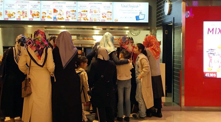 Haremlik – selamlık fast-food