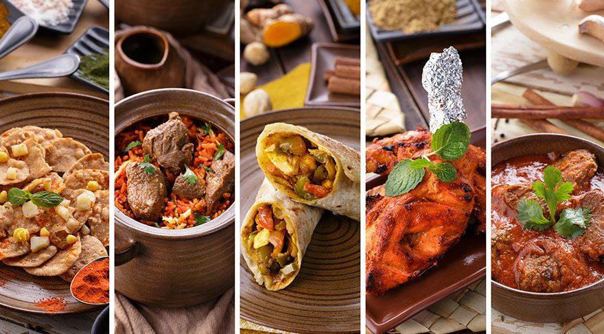 Yemek tutkunları için 'Hint yemekleri günleri'