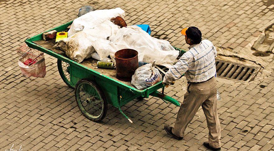 Çöpte havan mermisi buldu