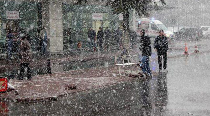 İstanbul'a kar ne zaman yağacak? Hava durumu (Tüm Türkiye)