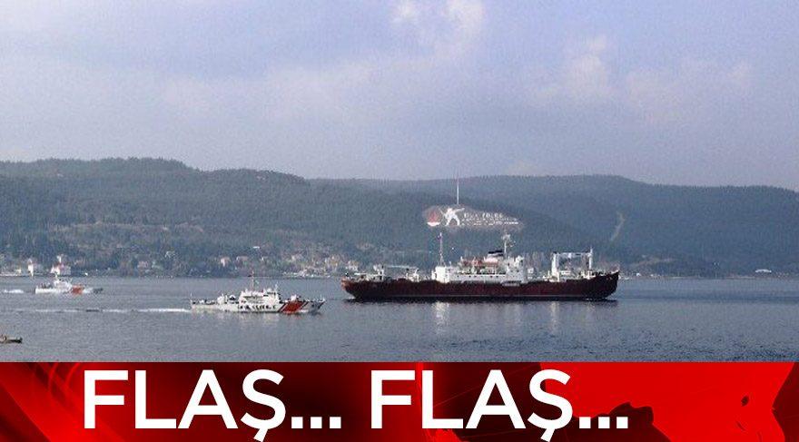 Marmara Denizi girişinde tanker kazası