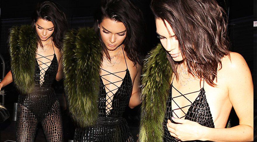 Kendall Jenner 21. yaş gününü kutladı
