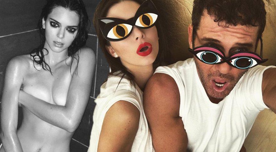 Mert Alaş Kendall Jenner'in doğum gününü böyle kutladı