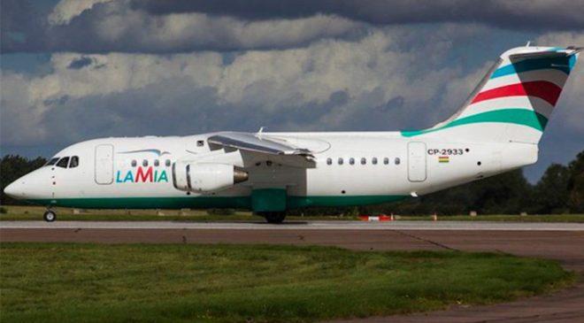 Düşen uçağın Lamia Havayolları'ndan kiralandığı belirtildi.