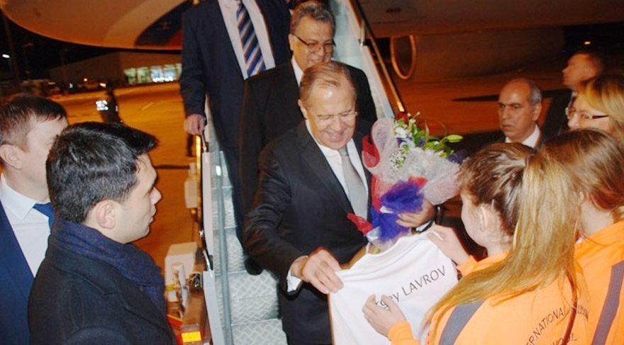 Rusya Dışişleri Bakanı Lavrov Antalya'da!