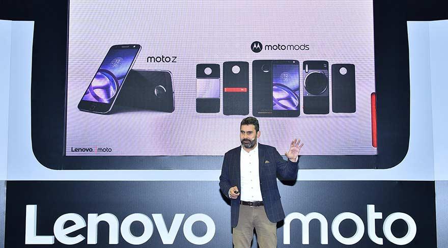Lenovo yeni Moto Z'yi tanıttı