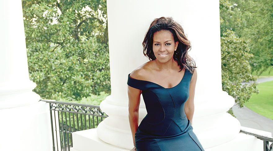 First Lady kapak kızı oldu