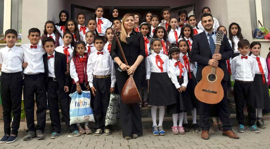 Nihal öğretmen sınırdaki öğrencilerine umut oldu