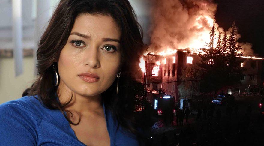 Adana'da gerçekleşen yurt yangınına ünlü isimler sosyal medyadan tepki gösterdi