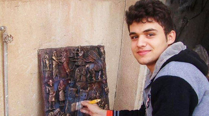 17 yaşındaki genç IŞİD'e sanatıyla cevap veriyor