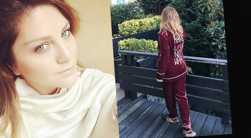 Sibel Can, pijamalı fotoğrafını hesabından paylaştı