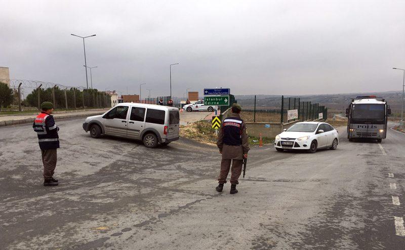 FOTO:İHA/Arşiv - Silivri Cezaevi'nde güvenlik önlemleri en üst seviyeye çıkarıldı.