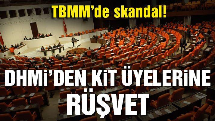 TBMM'de skandal! Komisyon üyelerine bilgisayar