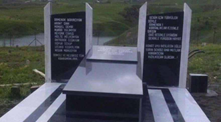 Tunceli'deki sözde Ermeni soykırımı anıtı yıkılıyor