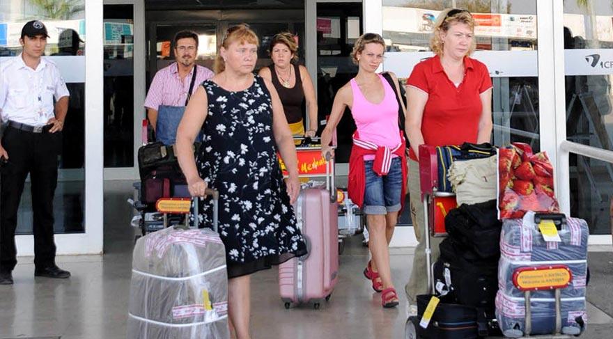 Türkiye'ye gelen yabancı ziyaretçi sayısı Ekim'de azaldı