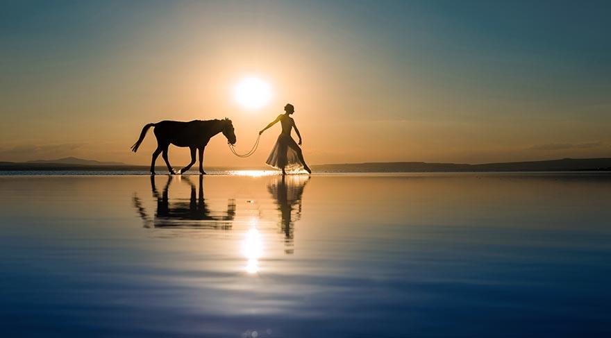 Doğal mirasımız Tuz Gölü'ne fotoğrafçılardan destek