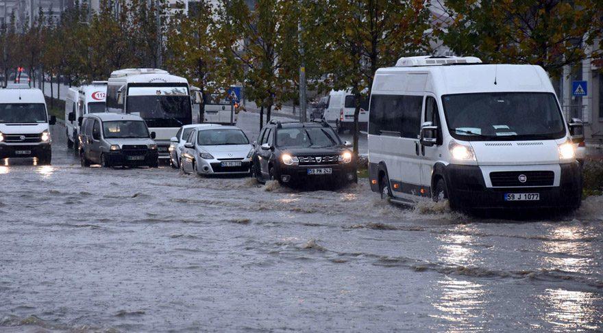 Marmara ve Ege'de yağmur alarmı