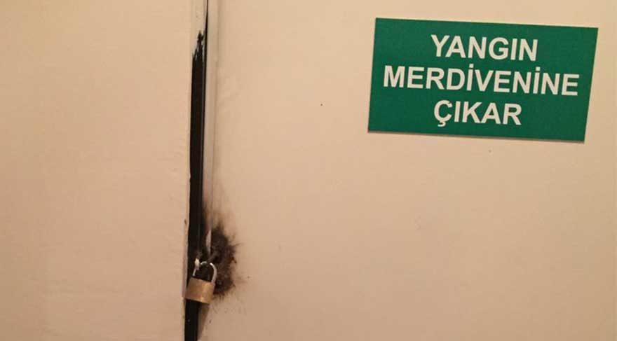 Sosyal medyada Adana'daki yurt yangını sonrası 'Yangın merdiveni' paylaşımları: Bizimkisi de kilitli