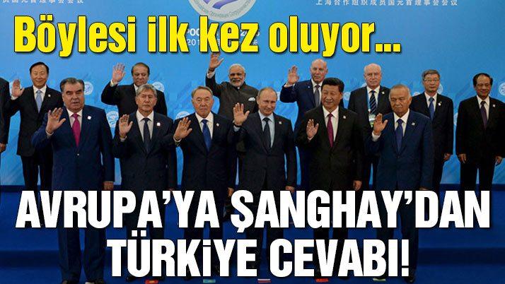 Son dakika… Şanghay'da Türkiye'ye ilk görev