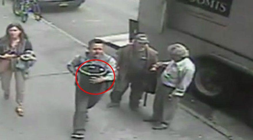 New York polisi 20 saniyede 1.6 milyon dolar değerindeki altını çalan hırsızı arıyor