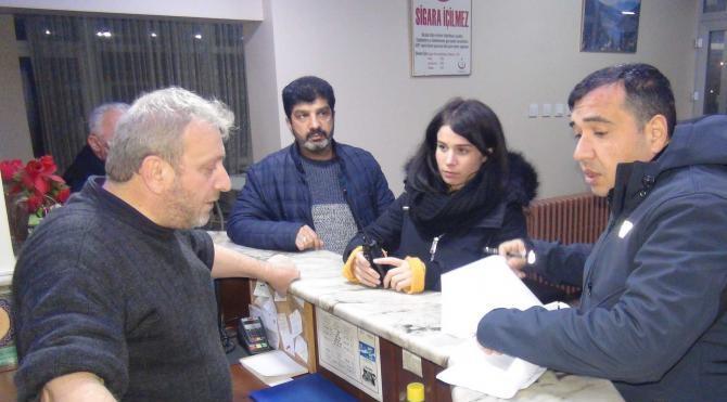 Bursa'da günlük kiralık dairelere polis baskını