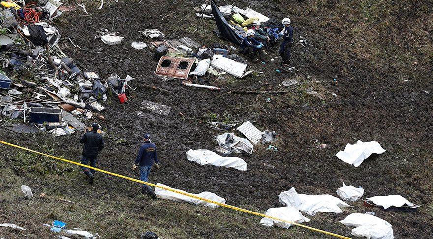 Futbolcuların da aralarında bulunduğu 71 kişiye mezar olan uçaktan kritik ses kaydı!