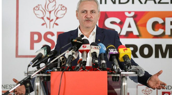 FOTO: REUTERS/ Sosyal Demokrat Parti lideri Liviu Dragnea...