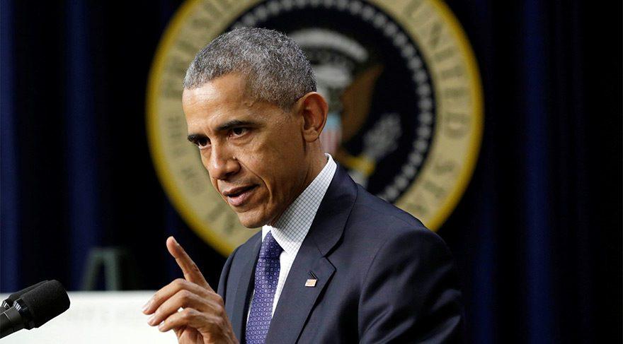 Obama'dan tehdit gibi açıklama!