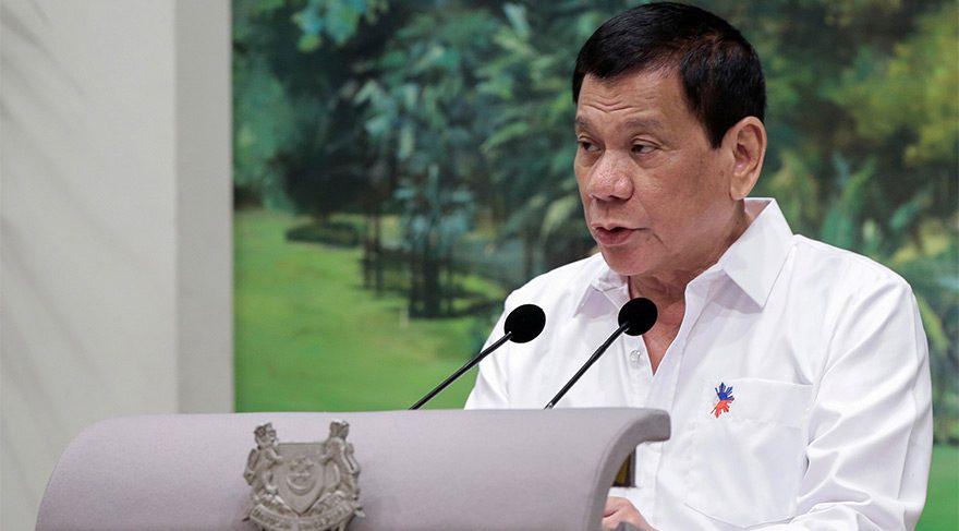 Filipinler: Duterte 'öldürdüm' derken 'mecazi konuşuyor'