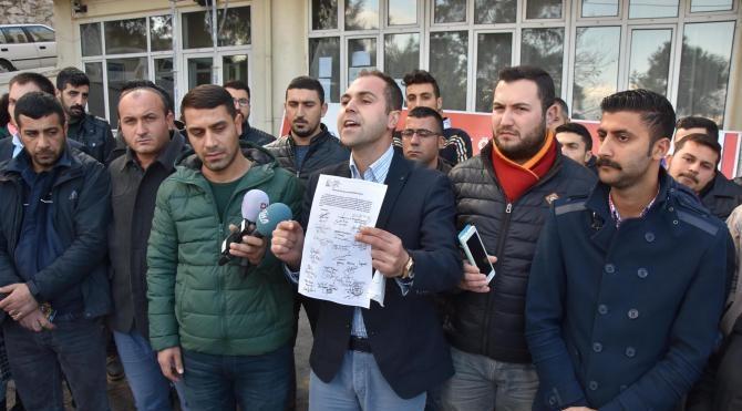 CHP'li gençler önergeyi hatırlattı
