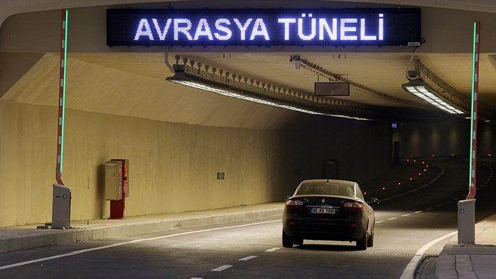 Avrasya Tüneli'nden günde 260 bin TL bekleniyor