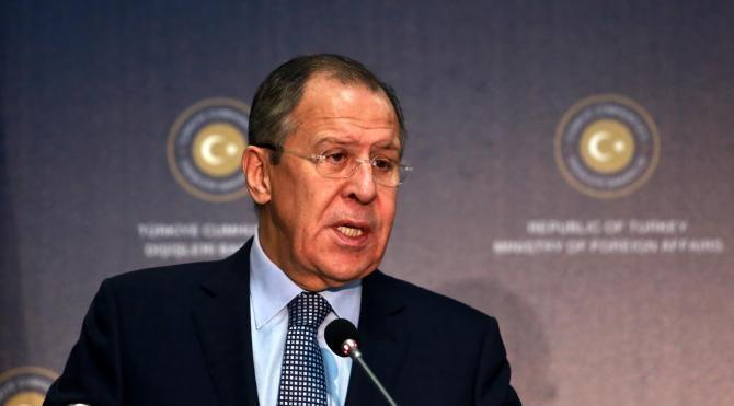 Dışişleri Bakanı Çavuşoğlu, Rus Bakan Lavrov ile görüştü (2)