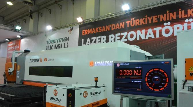 ABD ve Almanya'dan ithal edilen makineleri, Türkiye'de üretip ihraç ediyorlar