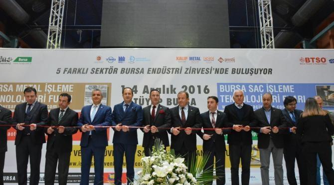 Bursa'da 500 milyon dolarlık fuar kapılarını açtı