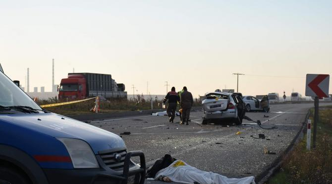Lüleburgaz'da trafik kazası: 2 ölü