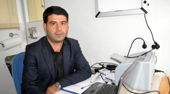 Mobil ASM TIR'ı Şırnak'ta hizmet vermeye başladı