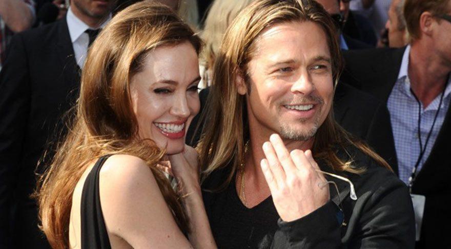 Brad Pitt ve Angelina Jolie'den barışçıl hareket